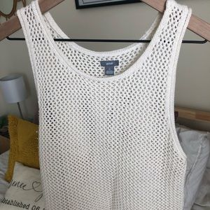 Aerie Cropped Sweater Tank